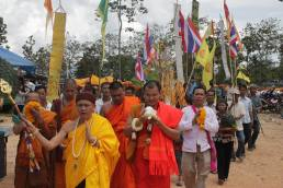 Festival celebrating the anniversary of a 715-year-old temple