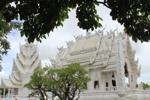 White Temple, Chiang Rai, northern Thailand