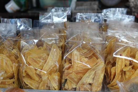 banana chips, northern Thailand, Thai food