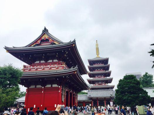 Asakusa, Japan, Sensō-ji Temple