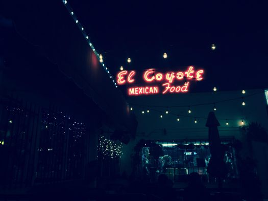 El Coyote, Mexican, Los Angeles